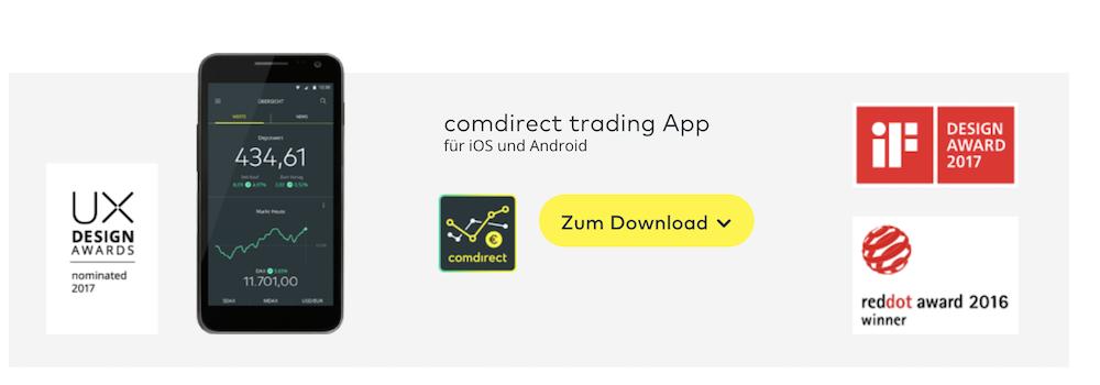 comdirect Trading App