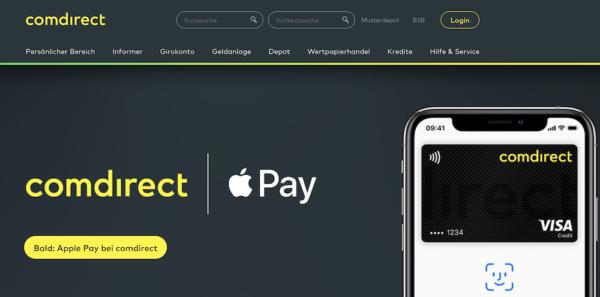 Apple Pay mit der Girocard