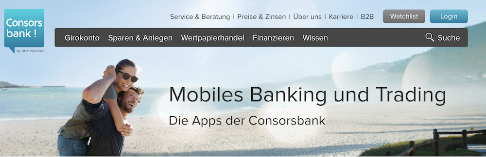 Consorsbank Apps