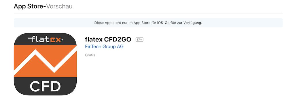 flatex App Bewertung