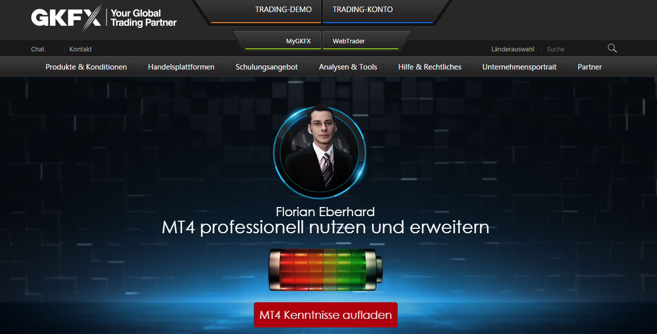 GKFX MT4 Kenntnisse erweitern