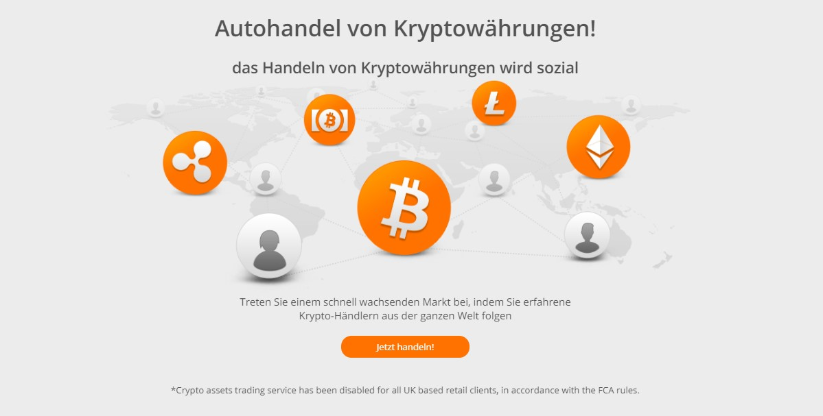 ZuluTrade bietet den Autohandel von Kryptowährungen