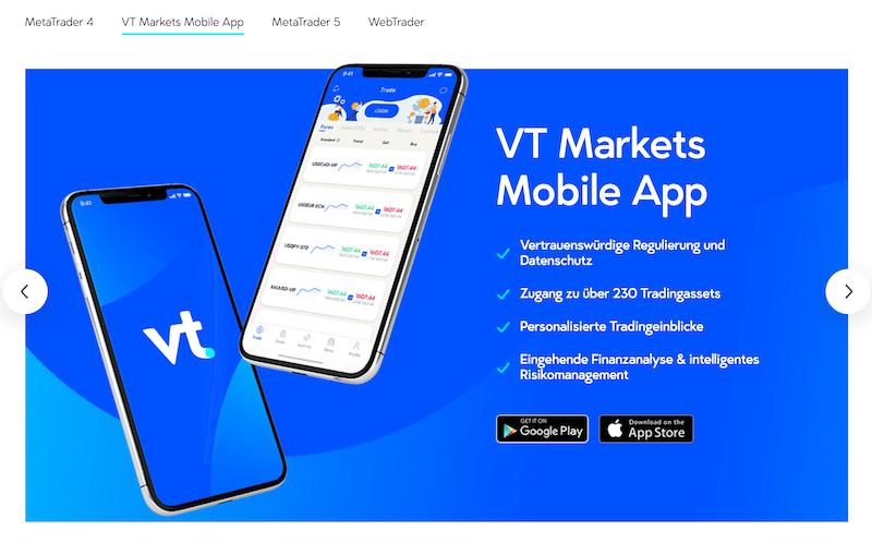 VT Markets App